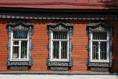 Russia. Kolomna. Travel in Russia. Kolomna. Old-fashioned window Stock Photos