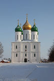 Russia Kolomna city The Cathedral of the Asccension. Historical city Kolomna - one of the oldest russian ciies. The cathedral of Asccension in the downtown Stock Image