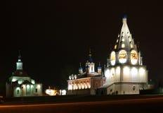 Russia, Kolomna, night Stock Photos
