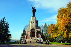 Russia, Kostroma city, Lenin Stock Photos