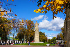 Russia, Kostroma city, monument Susanin Royalty Free Stock Image