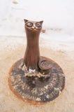 Russia Kostroma monument cat Stock Image