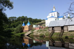 Russia. Kursk. Korennaja pustyn. Kursk  is a city and the administrative center of Kursk Oblast, Russia, located at the confluence of the Kur, Tuskar, and Seym Stock Photography