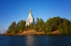 Russia, Ladoga lake. Island Valaam Stock Photos