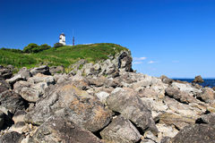 Russia. Lighthouse Royalty Free Stock Photography