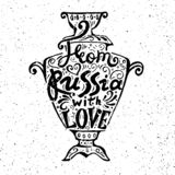 From russia with love royalty free illustration