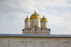 Russia, Luzhetsky monastery Royalty Free Stock Photos