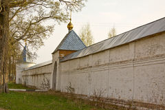 Russia. Luzhetsky monastery Royalty Free Stock Photography