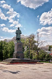 Russia. Monument to Gogol in Moscow on Gogol Boulevard. 20 June 2016. Stock Image