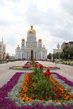 Russia. Mordovia. Cathedral of St. Warrior Admiral Feodor Ushakov Royalty Free Stock Photos
