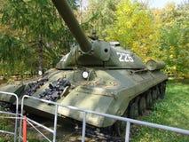 Russia. Moscow.Battle tanks and anti tank gun museum in Poklonnaya Gora Stock Photo