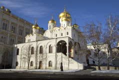 Russia. Moscow. Cathedral of the Annunciation. Cathedral of the Annunciation was built by unknown masters in 1484-1489, respectively Stock Photo