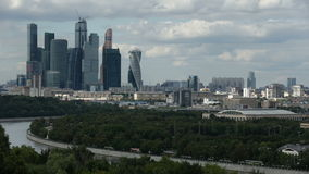 Russia Moscow stock video footage