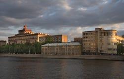 Russia, Moscow, city views, Soviet-era architecture Stock Photos