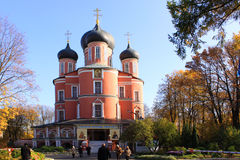 Russia. Moscow. Donskoy Monastery. Donskoy Monastery is a major monastery in Moscow, founded in 1591[1] in commemoration of Moscow's deliverance from an imminent Stock Images