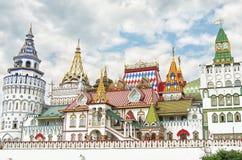 RUSSIA, MOSCOW, IZMAILOVO. Izmailovsky Kremlin, Moscow, Russia, in spring Stock Images