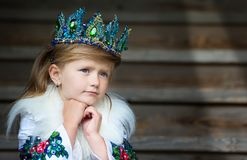 Girl queen stock photos