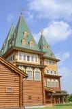 RUSSIA, MOSCOW, KOLOMENSKOYE. Moscow. Kolomenskoye. The Palace of Tsar Alexei Mikhailovich Royalty Free Stock Image