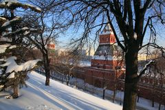 Russia. Moscow. Kremlin. Royalty Free Stock Photos