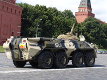 Russia, Moscow Kremlin and Army Personal armored carrier Stock Photos