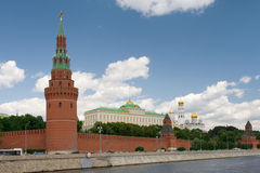 Russia Moscow Kremlin closeup Royalty Free Stock Image