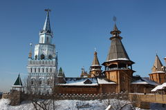 Russia, Moscow. Kremlin in Izmailovo. Royalty Free Stock Images