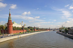 Russia, Moscow Kremlin in summer Stock Photos