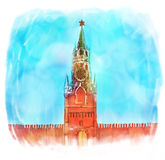 Russia: Moscow Kremlin Stock Photography