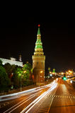 Russia, Moscow, night view Royalty Free Stock Images