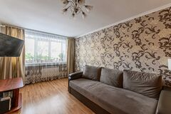 Russia, Moscow- November 15, 2019: interior room apartment modern bright cozy atmosphere. general cleaning, home decoration,