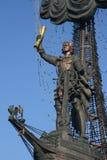 Russia.Moscow. Peter el grande Imágenes de archivo libres de regalías