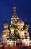 Russia Moscow the Red area Royalty Free Stock Photos