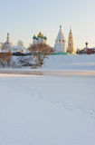 Russia. Moscow region. Ensemble of Kolomna Kremlin Stock Photos
