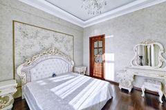 Interior design bedrooms. Stock Photos