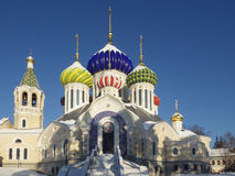 Russia. Moscow region. Peredelkino. Temple of the Holy Great Prince Igor of Chernigov Royalty Free Stock Photos