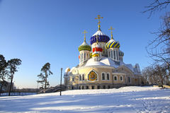 Russia. Moscow region. Peredelkino. Temple of the Holy Great Prince Igor of Chernigov Stock Photo