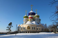 Russia. Moscow region. Peredelkino. Temple of the Holy Great Prince Igor of Chernigov Royalty Free Stock Photo