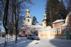 Russia. Moscow region. Peredelkino. Temple of the Holy Great Prince Igor of Chernigov Royalty Free Stock Photography