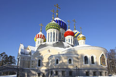 Russia. Moscow region. Peredelkino. Temple of the Holy Great Prince Igor of Chernigov Royalty Free Stock Images