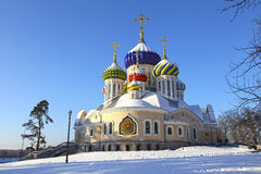 Russia. Moscow region. Peredelkino. Temple of the Holy Great Prince Igor of Chernigov Stock Images