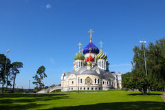 Russia. Moscow region. Peredelkino. Temple of the Holy Great Prince Igor of Chernigov Stock Image