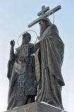 Russia. Moscow region. Saints Cyril and Methodius Royalty Free Stock Image