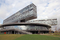 Russia. Moscow. Skolkovo innovation and business center. Building of bussines and innovation center in Skolkovo, Moscow region, Russia Royalty Free Stock Image