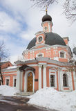 Russia. Moscow. The temple of the Holy great Martyr Catherine. Royalty Free Stock Photos