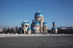 Russia, Moscow. Temple of the Holy Trinity Royalty Free Stock Images
