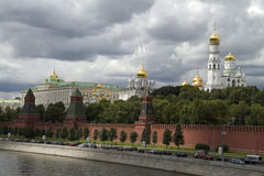 Russia, Moscow, view on Kremlin Royalty Free Stock Photo