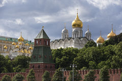 Russia, Moscow, view on Kremlin Stock Images