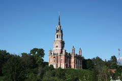 Russia, Mozhaisk. New Nicholas Cathedral Royalty Free Stock Photos