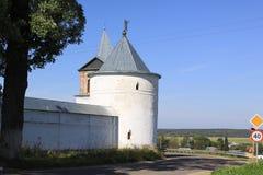 Russia. Mozhaisky Luzhetsky of the Nativity of the virgin Ferapontov monastery. Tower Royalty Free Stock Photos