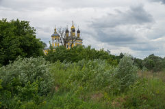 Russia. Murom. Nicholas-Quay Church Royalty Free Stock Images
